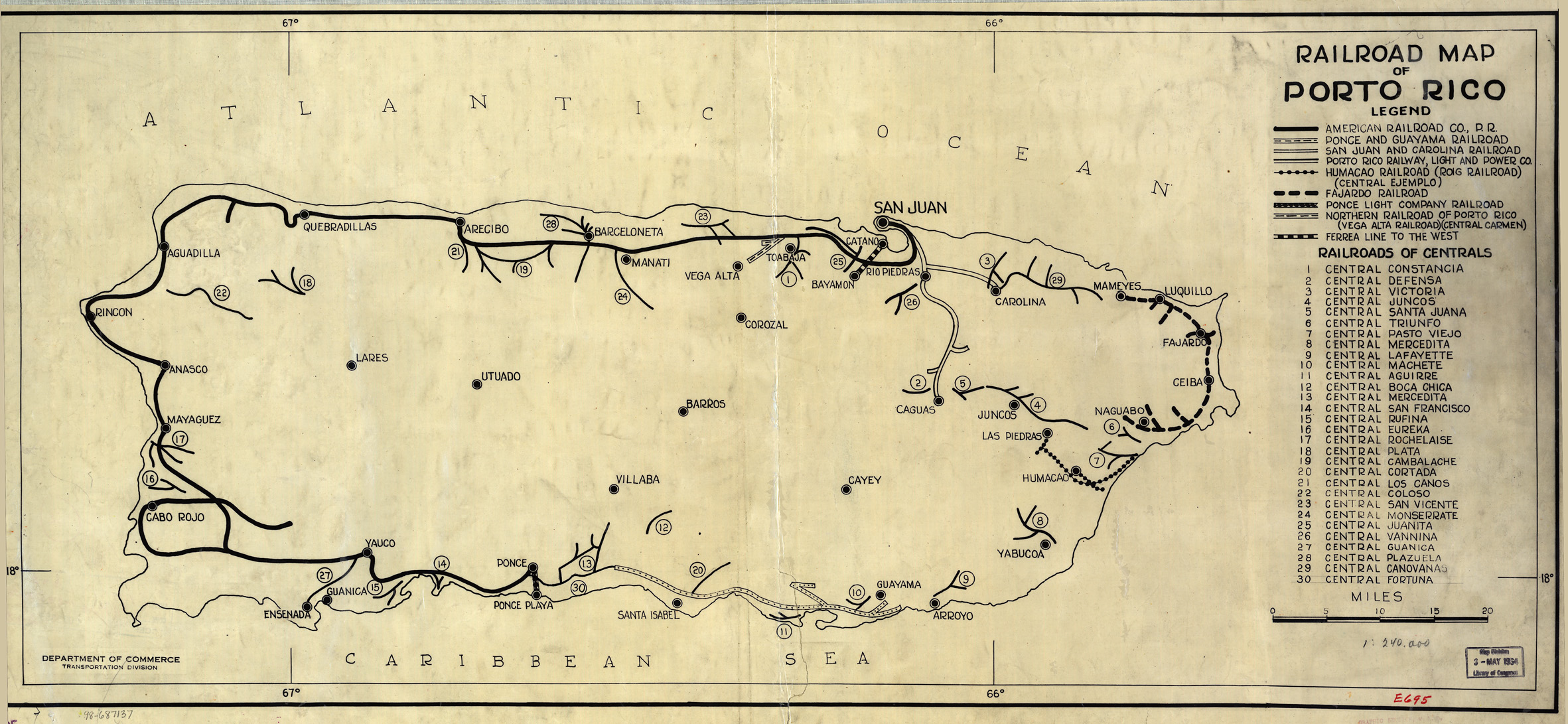 Historic Photo Of The Day THE SUGAR CANE RAILROADS WAR AGAINST - Us puerto rico map