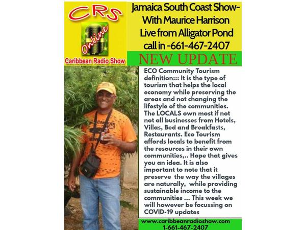 41: Jamaica South Coast Show live from Alligator Pond Manchester