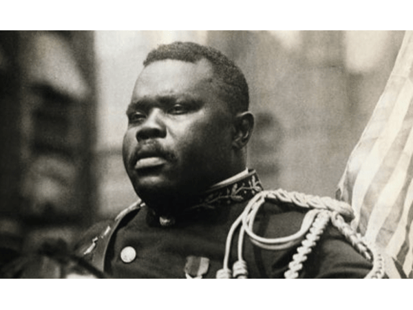 12: Marcus Garvey  Calling from the grave- Rise up Blackman Rise up!