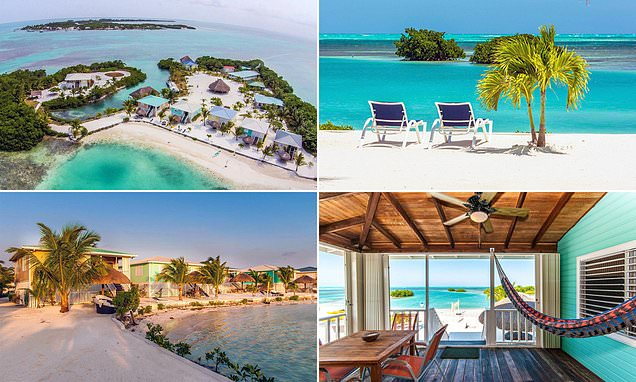 Stunning private island resort in Belize hits market for £3