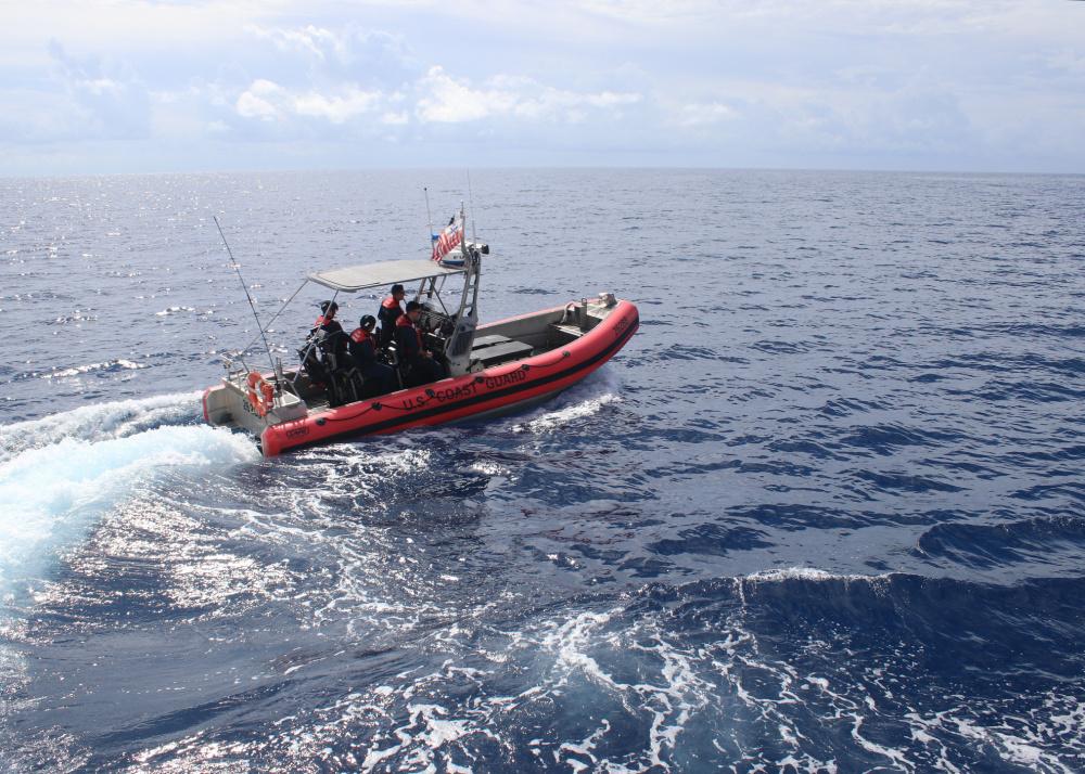 Coast Guard Cutter Reliance returns after 36-day Caribbean Sea Patrol