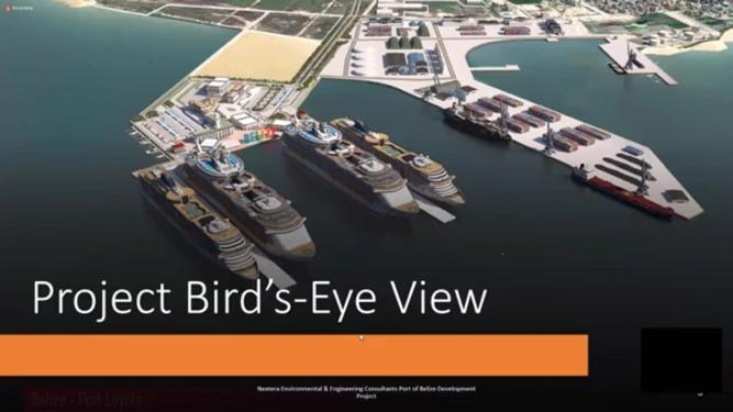 Public consultation for cruise terminal at Port of Belize, Belize