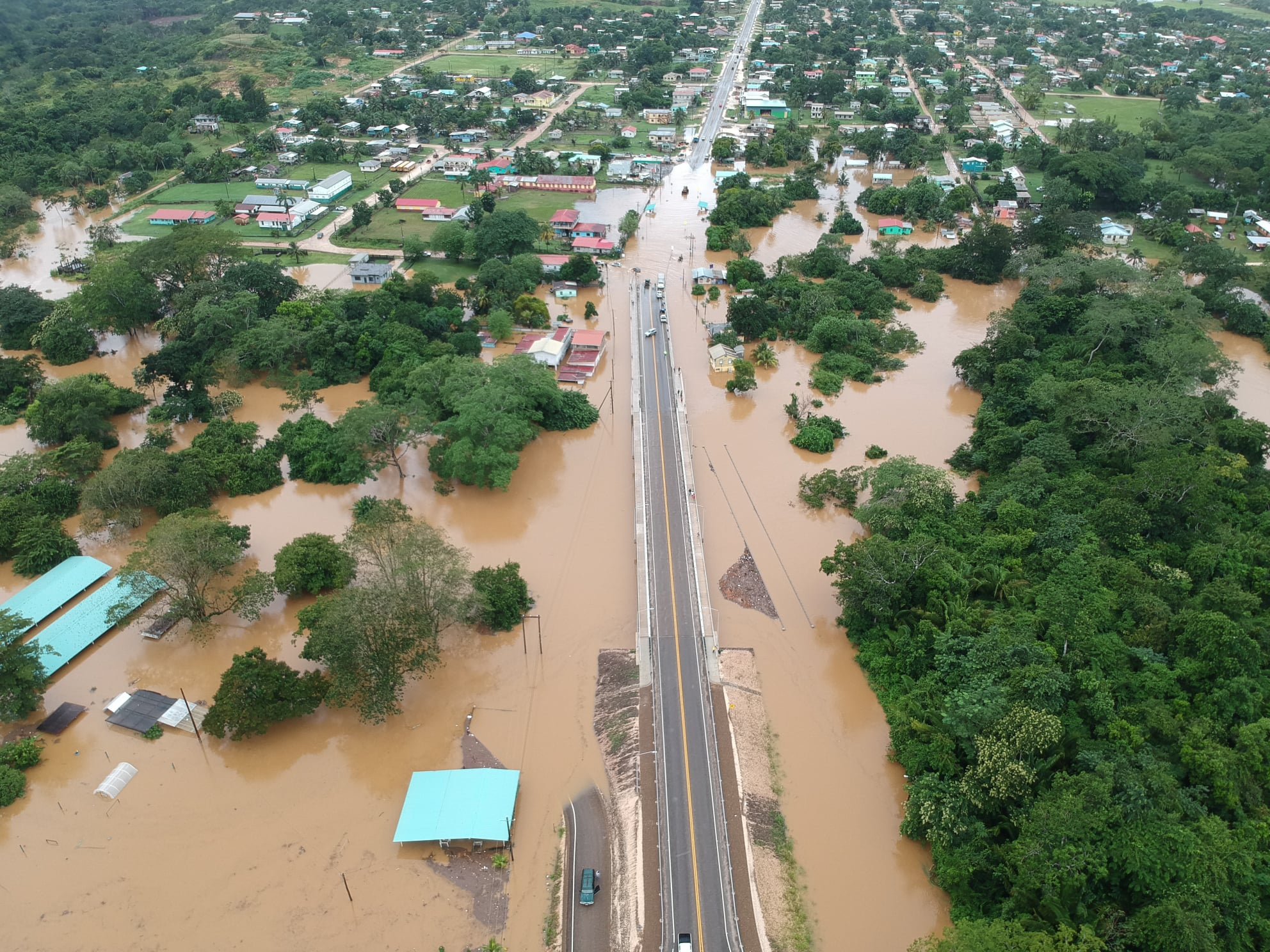 Flooding expected to continue after Tropical Depression Eta leaves Central