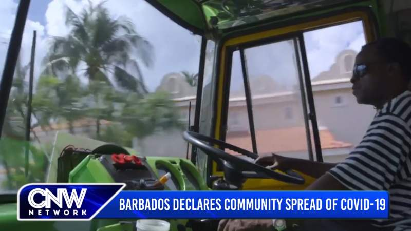 CNW90 January 25, 2021: Barbados Declares Community Spread of COVID-19