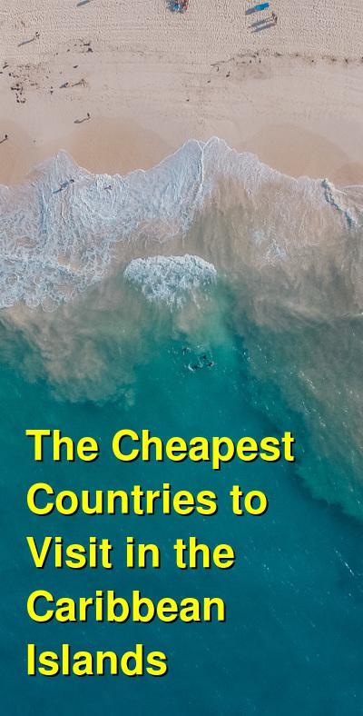 Caribbean Islands Travel Cost Rankings (2021)