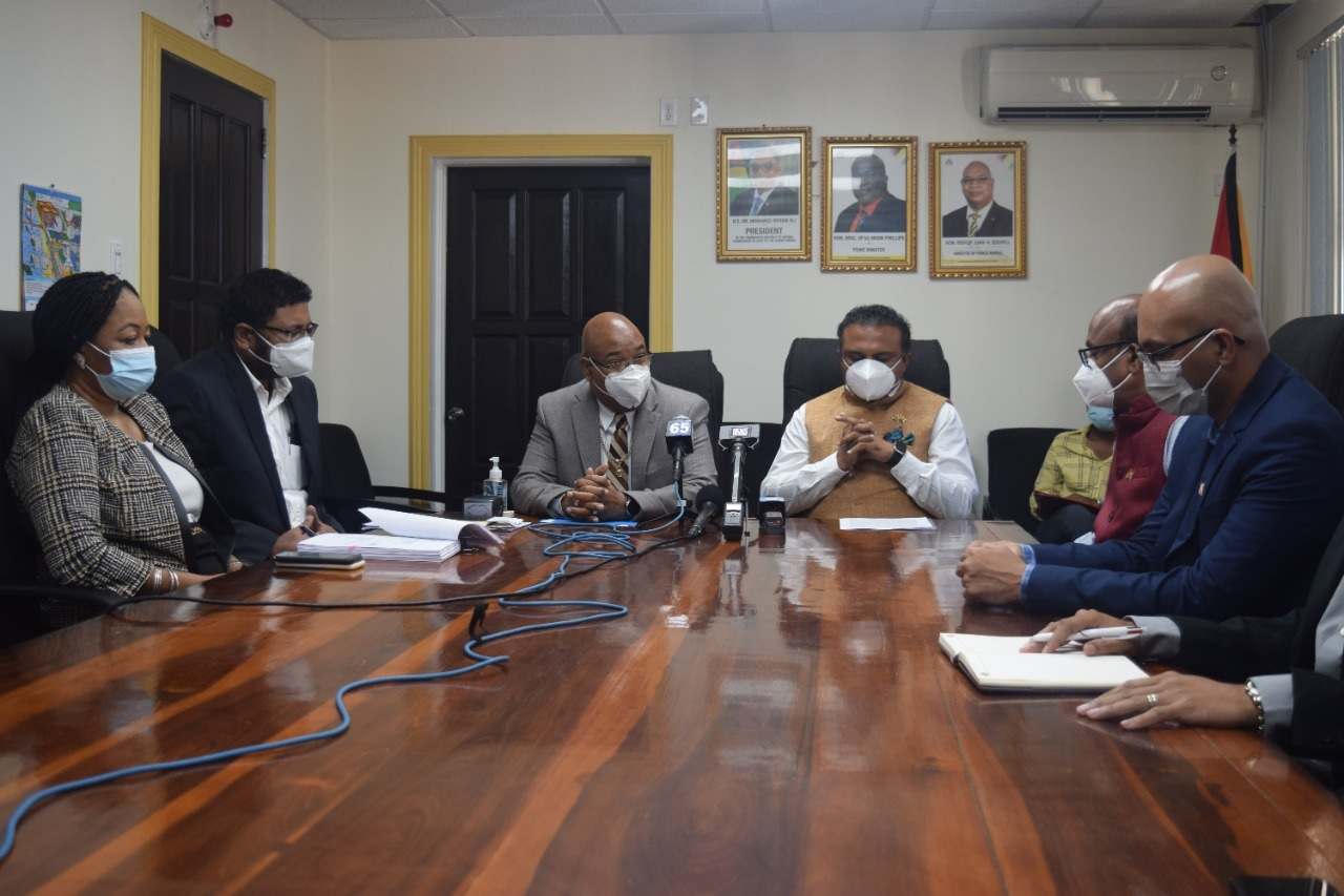 India, Guyana sign agreement to build US$12 million ferry vessel