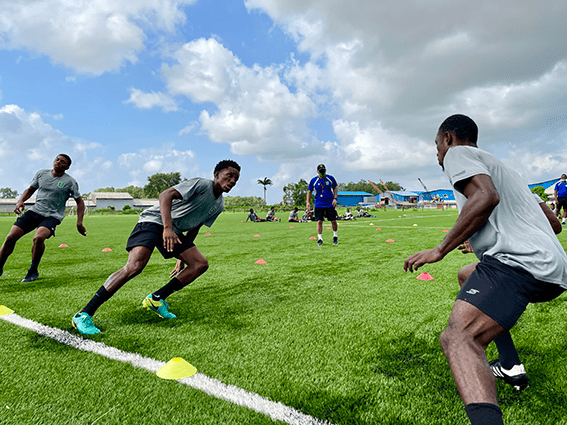 FIFA World Cup Qatar 2022 'Golden Jaguars' undergo Fitness Tests