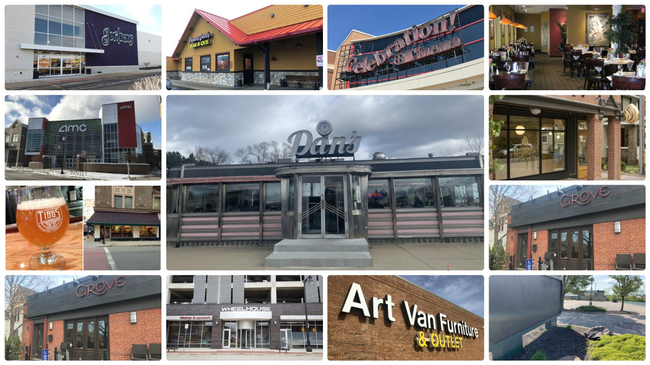 54 West Michigan businesses we said goodbye to in 2020