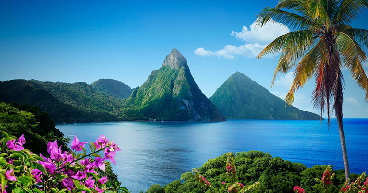 Saint Lucia Caribbean Island