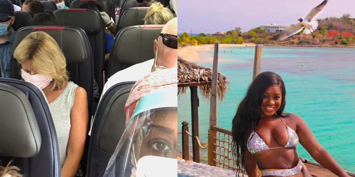 A travel influencer says visiting Antigua after it reopened felt