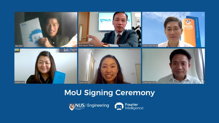Fourier Intelligence partners the National University of Singapore to advance