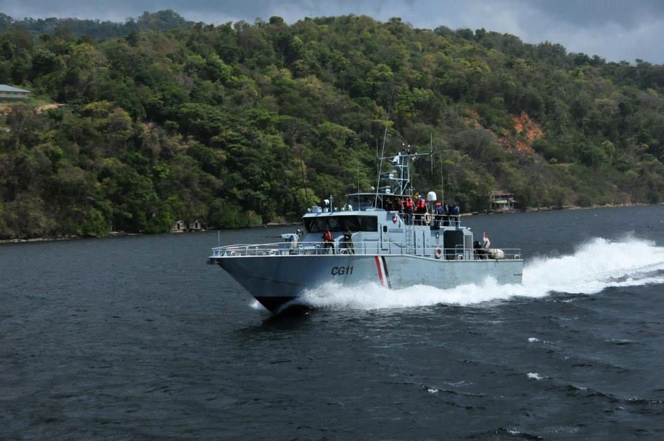 Trinidad coast guard breaks up illegal party