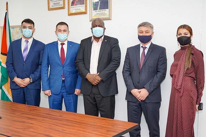 Guyana attracts Kazakhstan business interest