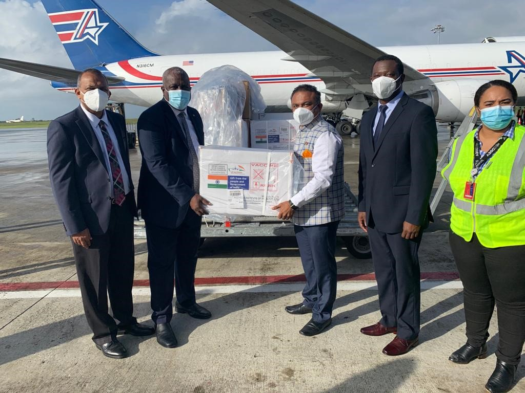 Amerijet Delivers COVID-19 Vaccines to the Caribbean