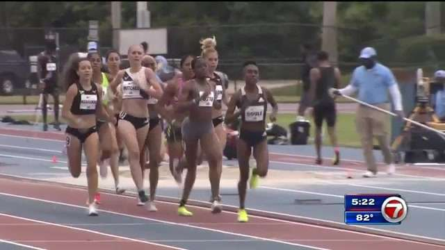 Over 100 Olympic qualifying athletes compete in Miramar Invitational