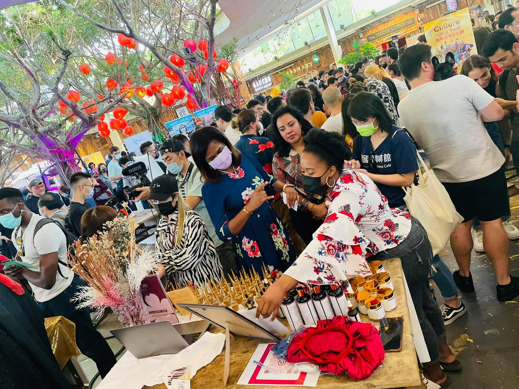 Belizean Brings Culture and History to Taiwan