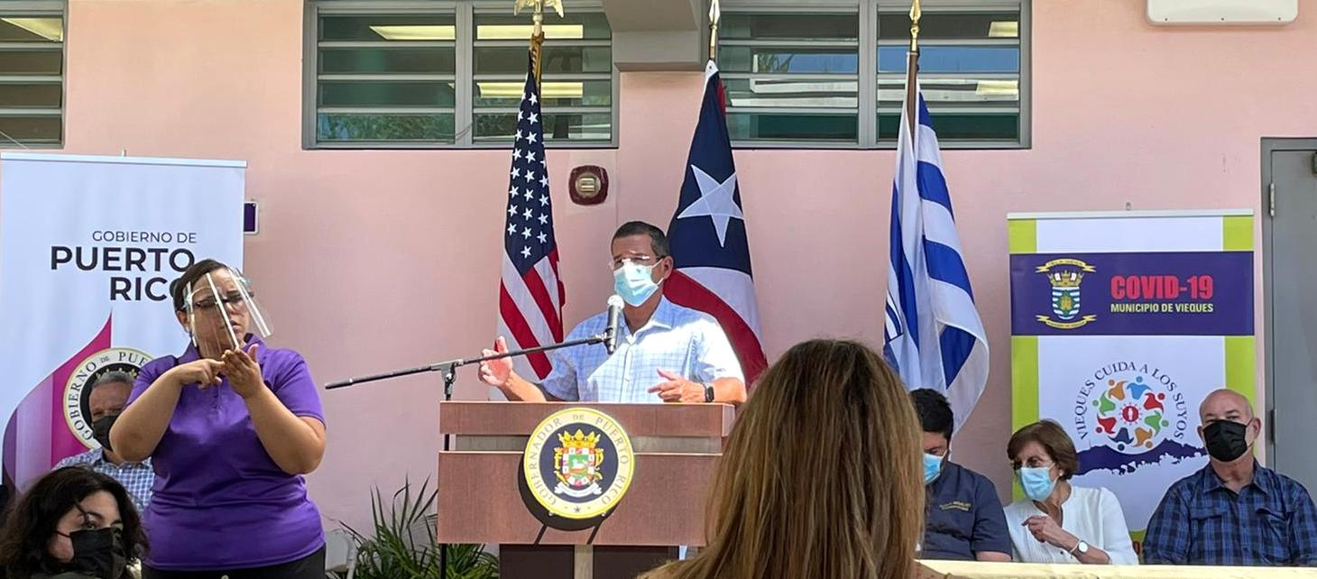Governor: Vieques, Culebra Could Reopen for Tourism Monday