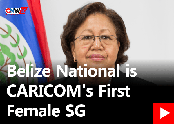 CNW90: Belize National is CARICOM's First Female Secretary General