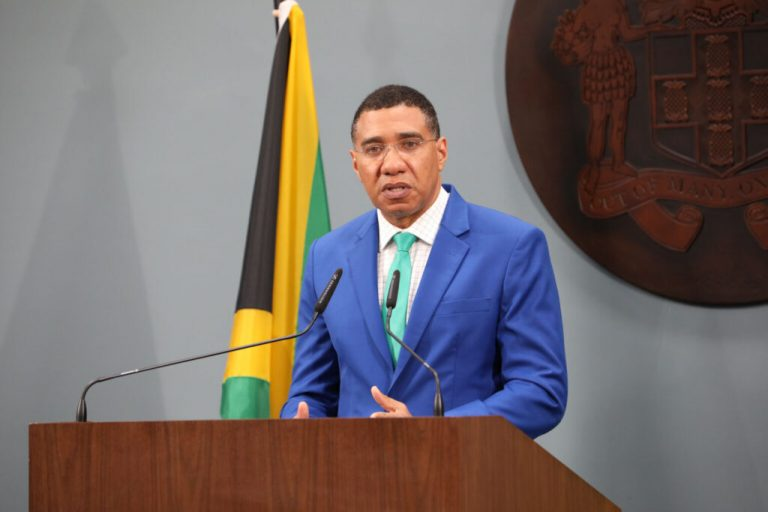 Jamaica's Prime Minister Andrew Holness Lashes Out at Violent Jamaican