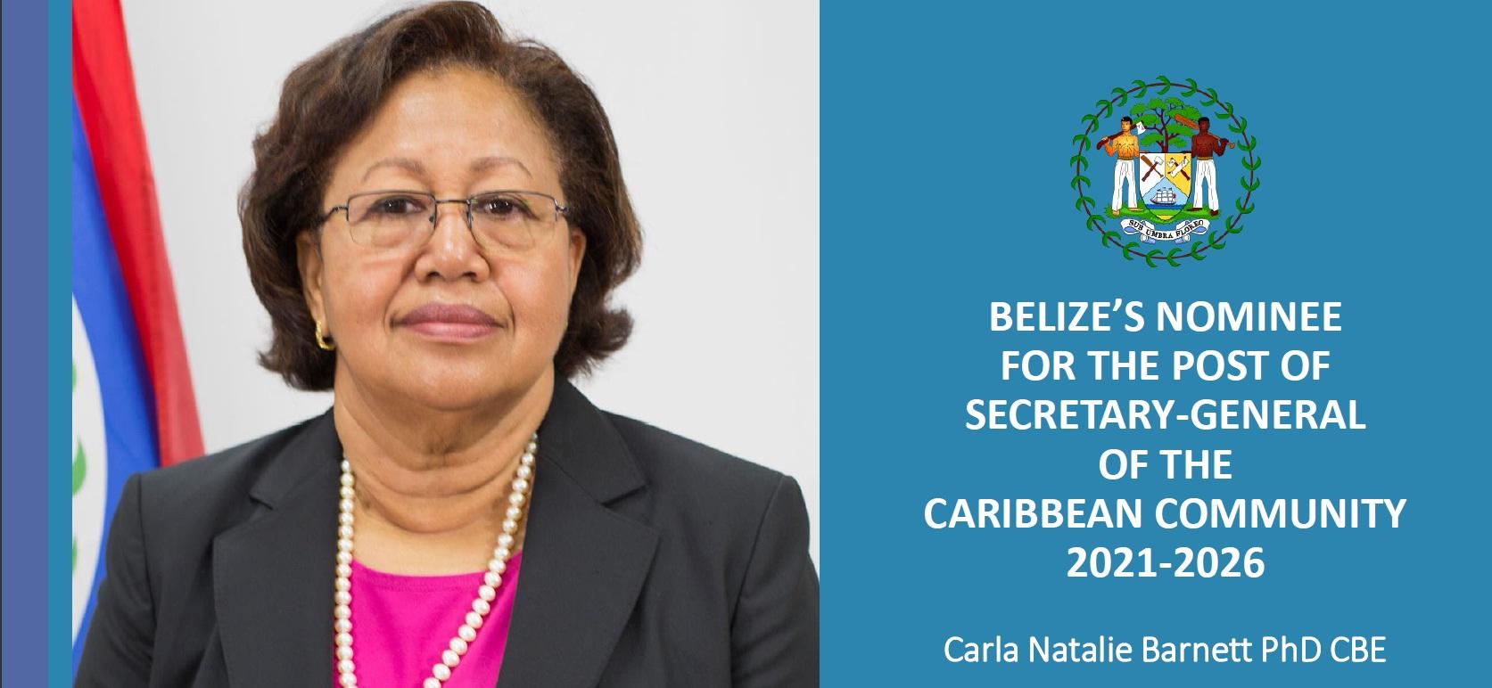 Carla Barnett is new CARICOM Secretary General