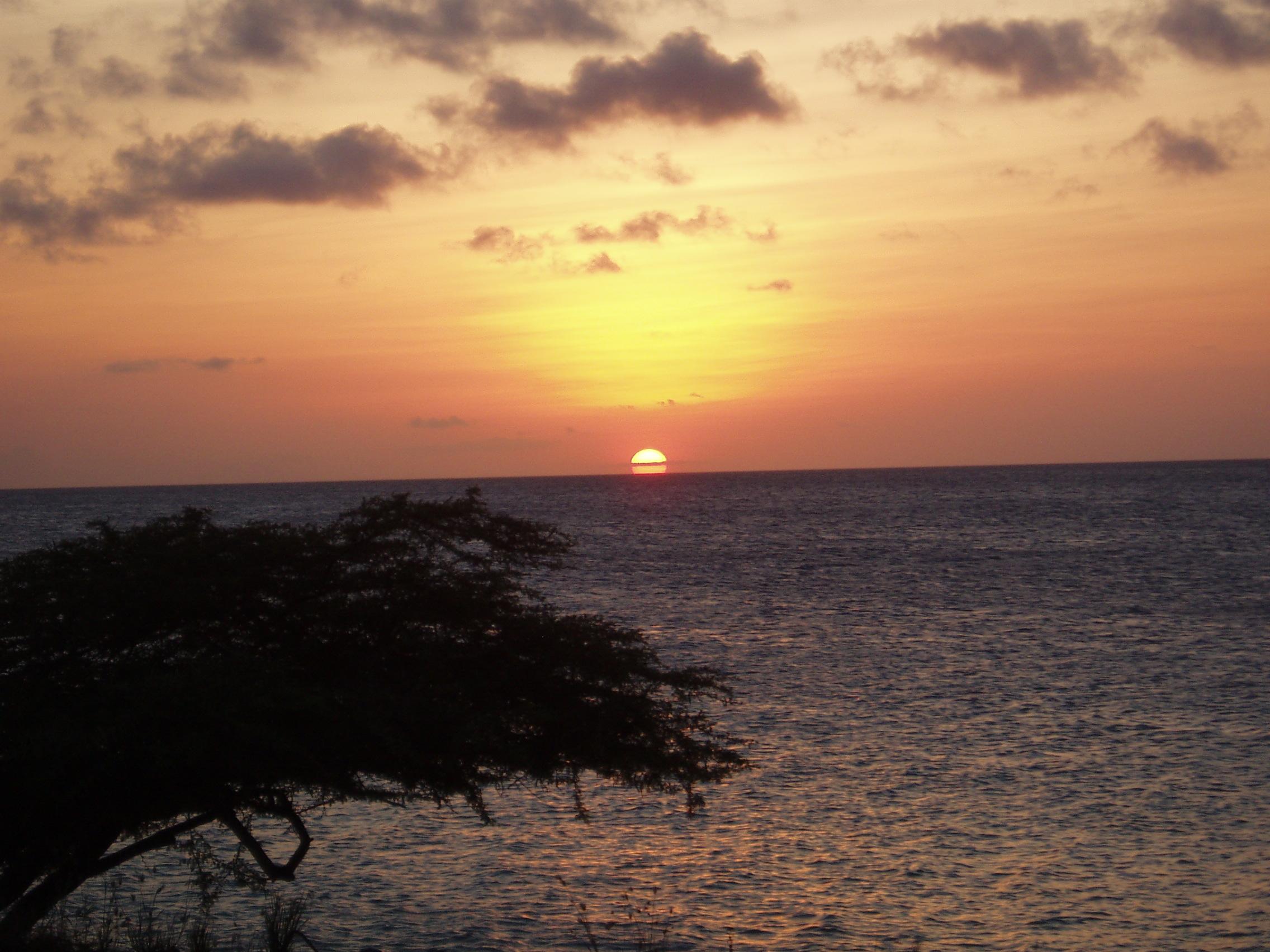 Sunset Over Bonaire