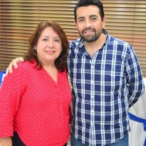 Carlos García y Claudia Carrillo