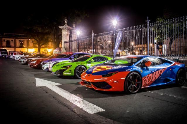 Irá de Puebla a Cancún caravana  de 60 autos deportivos de lujo