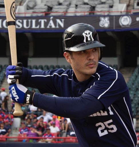 Kuno Becker encarna a jugador de béisbol en nueva película