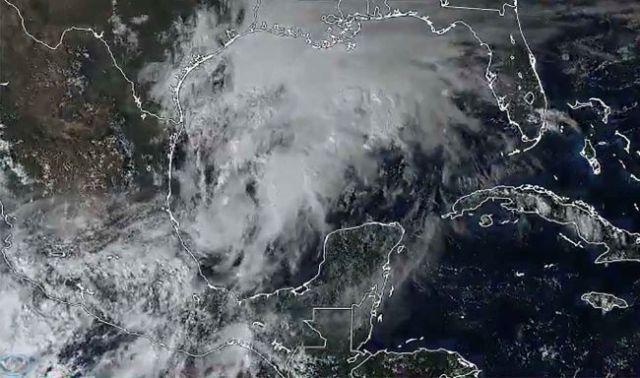 Meteoro alcanzaría mañana en el Golfo categoría de tormenta