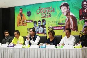 Todo listo para el inicio del Carnaval Cozumel 2020