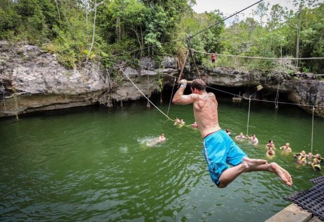 Puerto Morelos busca en Estados Unidos segmento de turismo de aventura