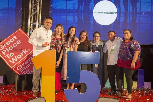 Grupo Xcaret una de las mejores empresas para trabajar en México 2020