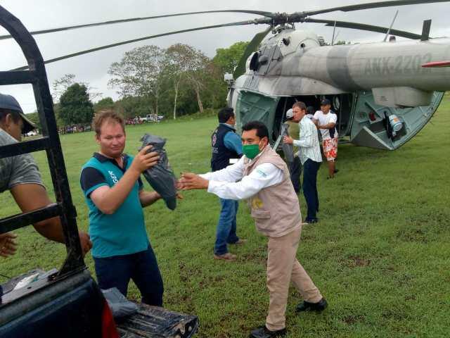 Alrededor de 1,140 familias de cuatro municipios han sido afectadas por las lluvias en Quintana Roo