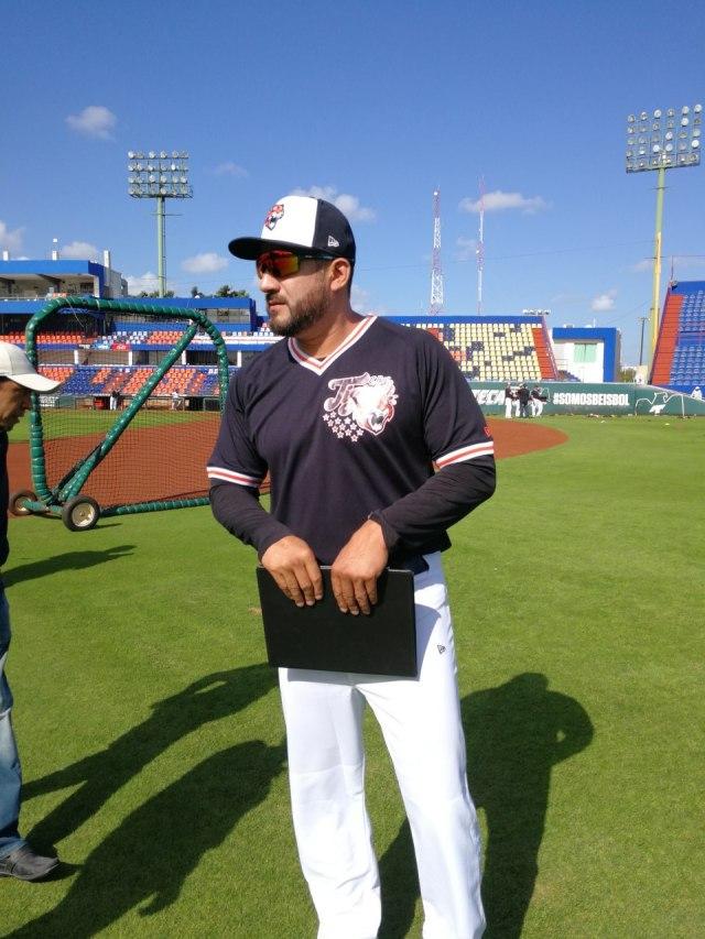 Adán Muñoz busca sacarle el lado positivo al paro beisbolístico por el coronavirus