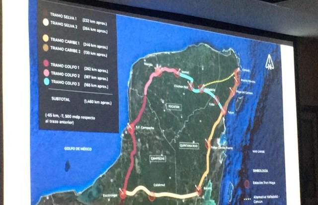 El Tren Maya facilitará que surjan desarrollos bien planeados en Quintana Roo: Fonatur