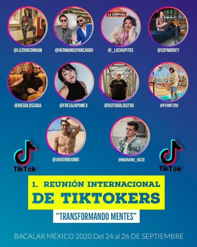 Bacalar, sede de encuentro internacional de Tiktokers