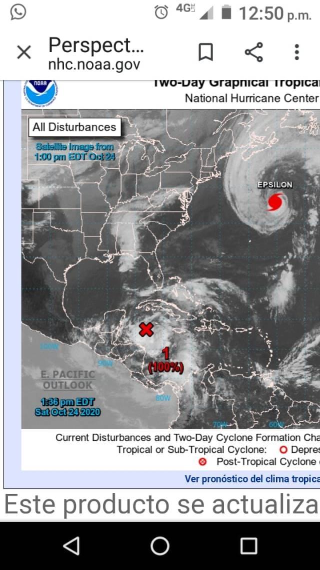 Atentos en Quintana Roo a las condiciones climatológicas en el Caribe