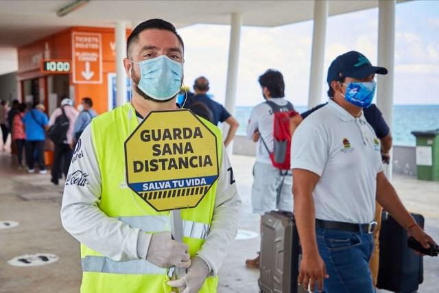 """Campaña """"Ponte Trucha con Esta Lucha"""" entrega más de nueve mil mascarillas en Cozumel"""