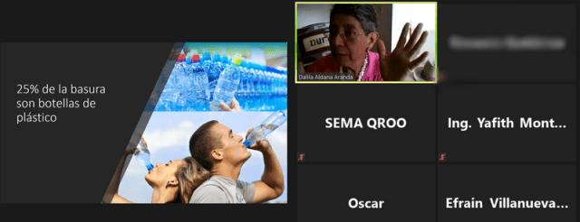 """Científica pide en Chetumal """"reaprender"""" a vivir sin plásticos de un solo uso"""