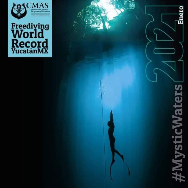 Alejandro Lemus buscará romper récord mundial en buceo libre