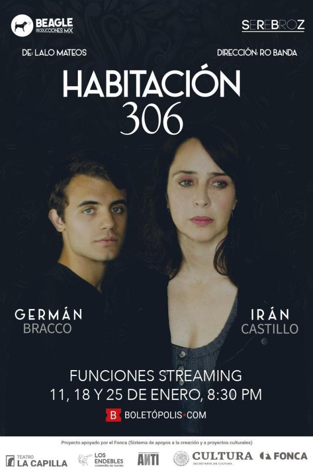 """Irán Castillo, actriz y cantautora mexicana en entrevista exclusiva nos habla de la obra """"Habitación 306"""""""