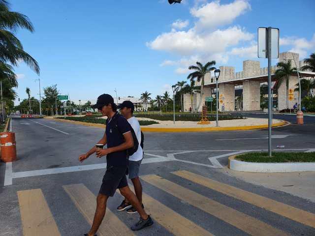 Empresarios, contra la nueva glorieta del Bulevar Kukulcán en Cancún