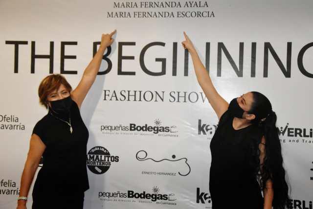 """""""The beginning"""", desfile de Fernanda Ayala y María Escorcia"""