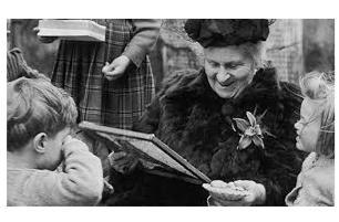 8 de marzo. Día Internacional de la mujer. María Montessori
