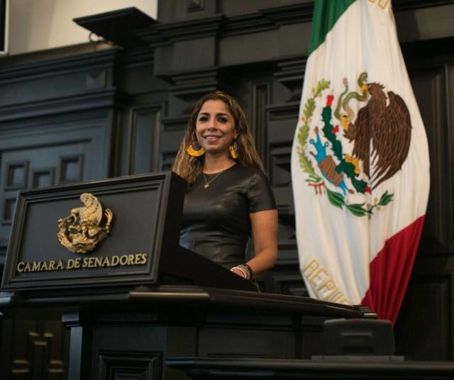 Solicita licencia Senadora Marybel Villegas, busca candidatura a alcaldía de Cancún por Morena