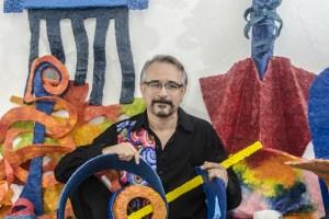 Horacio Cárdenas, artista plástico mexicano en entrevista para #Caribempresarial