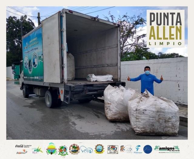 Proyecto del Centro de Manejo de Residuos de Punta Allen lleva 60 por ciento de avance