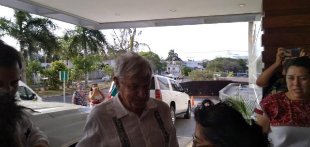 Llega a Chetumal el presidente Andrés Manuel López Obrador