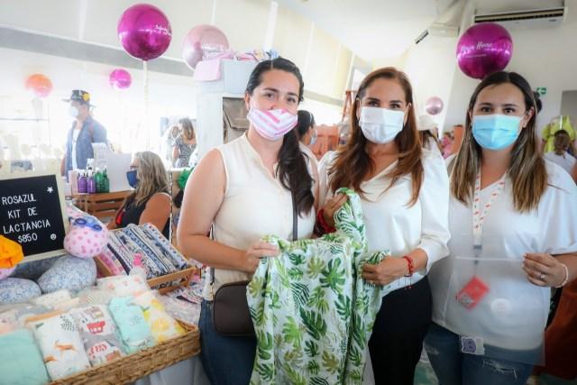 Mujeres emprendedoras recibirán apoyo desde el gobierno municipal; Mara Lezama