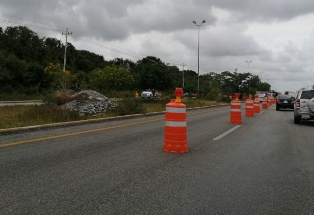 Fonatur asume, desde este día, control de carretera federal por donde pasará el Tren Maya